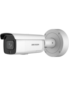 4MP DS-2CD2646G2-IZSU/SL(2.8-12mm)(C) Motorized VF Lens IP Bullet Camera + Strobe & Audio