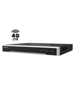 4 Channel Hikvision DS-7604NI-K1/4P/4G 8MP PoE 4G NVR