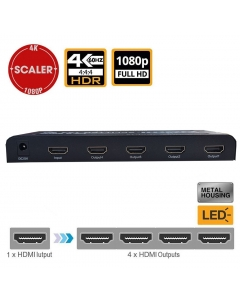 Netview 4K NV-HL-HDMI-4KSP14 HDMI Splitter 1 In-4 Out