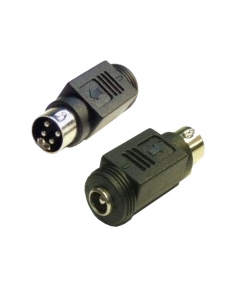 Hikvision DVR Power Supply Connector 4-Pin Male to 2.1mm DC Female Jack