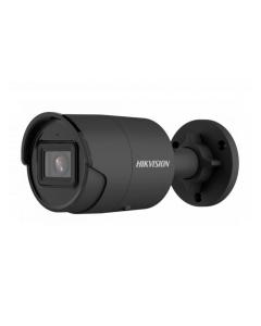 4MP DS-2CD2046G2-IU(C)BLACK 2.8mm 103° AcuSense  IP Mini Bullet Camera with Microphone