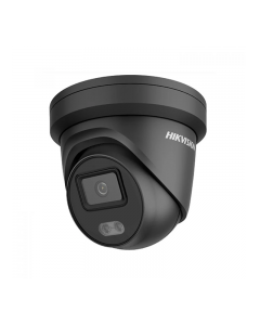 4MP ColorVu DS-2CD2347G2-LU(2.8mm)(C) BLACK 109° Night Time Colour IP Camera with Mic