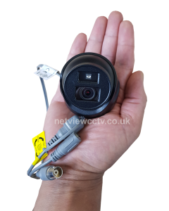 2MP DS-2CE70D0T-ITMF Hikvision 2.8mm 106° MINI Turret Dome Camera 20m IR BLACK