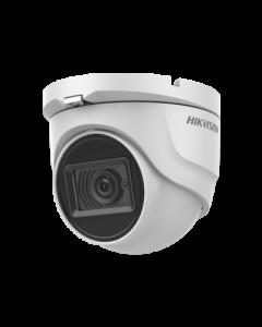 8MP (4K) DS-2CE76U1T-ITMF 2.8mm 102° Turret Camera with 30m IR