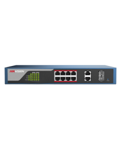 DS-3E1310P-E 8-Port 10/100Mbps Long Range Web-Managed PoE switch