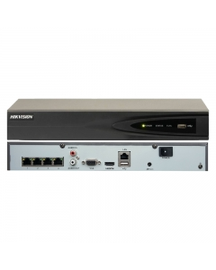 4 Channel Hikvision DS-7604NI-K1/4P(B) 8MP PoE NVR