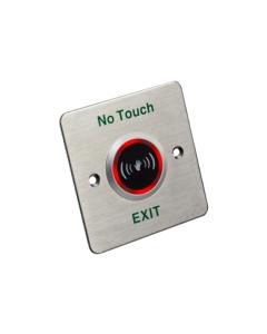 Hikvision DS-K7P03 No Touch Aluminum Panel Exit & Emergency Button
