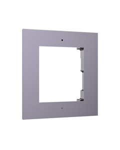 1-Module Aluminium Flush Mount DS-KD-ACF1 for Modular Intercom
