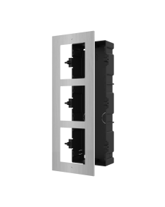 3-Module S/Steel Flush Mount DS-KD-ACF3/S for Modular Intercom
