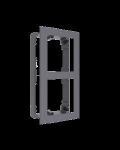 2-Module Aluminium Surface Mount DS-KD-ACW2 for Modular Intercom Door Station