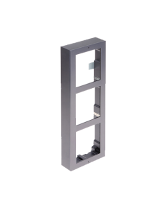 3-Module Aluminium Surface Mount DS-KD-ACW3 for Modular Intercom Door Station