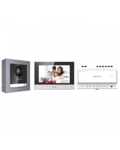2~Wire DS-KIS702 Hikvision Modular IP Video Intercom Kit