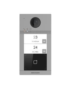 2MP Hikvision DS-KV8213-WME1 2 Buttons Video Intercom Metal Villa Door Station