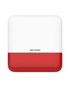 AX PRO DS-PS1-E-WE External Bellbox Sounder Siren & Strobe RED