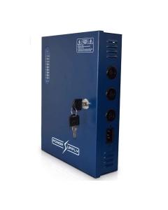 [18-Way] 20A CCTV Power Supply Professional 12V DC 18-Outputs Lockable Box