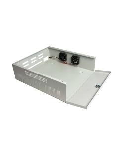 Haydon Large Lockable Steel DVR NVR Enclosure 565*510*170mm LDVR3