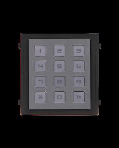 Modular DS-KD-KP/S Video Intercom Keypad Module S/Steel