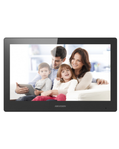 """Hikvision DS-KH8520-WTE1 10"""" Touch Screen with WI-FI for Video Intercom"""
