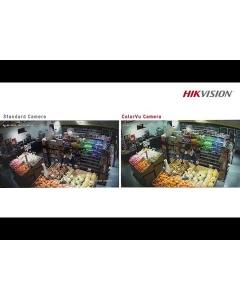 2MP ColorVu DS-2CE72DFT-F28 (2.8MM) 104° Full Time Colour Turret Camera