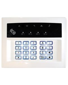 Pyronix Wireless LEDRKP/WHITE-WE Two-Way Keypad Arming Station