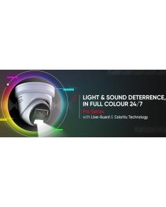 4MP ColorVu DS-2CD2347G2-LSU/SL(4MM)(C) 95° IP Camera with Mic, Speaker & Strobe