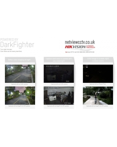 8MP DS-2CD2386G2-IU(Black) 2.8mm 110° Acusense Darkfighter IP Turret Camera with Microphone