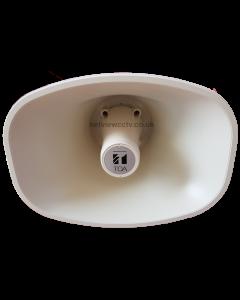 TOA SC-P620-EB Powered Horn Speaker 12vDC for CCTV IP Cameras, DVR & NVR