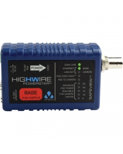Veracity VHW-HWPS-B HIGHWIRE Powerstar IP Over Coax +PoE BASE Unit