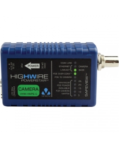 Veracity VHW-HWPS-C HIGHWIRE Powerstar IP Over Coax +PoE CAMERA Unit