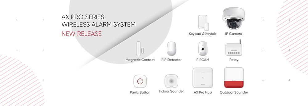 AX PRO Series Wireless Alarm System