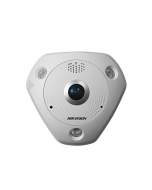 6MP Hikvision 360° Fisheye IP Camera 15m IR PoE SD Mic & Speaker, Alarm I/O IP66 DS-2CD6362F-IVS