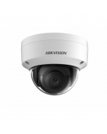 4MP DS-2CD2145FWD-IS 2.8mm 109° 30fps Darkfighter IP Vandal Dome Camera with IO/Audio