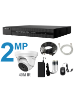 8 Channel HiLook DVR Kit with 2MP 40m IR CCTV Cameras