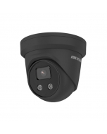 4MP DS-2CD2346G2-IU 2.8mm 103° AcuSense IP Turret Camera with Microphone Black