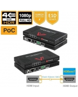 4K HDMI HDBaseT Extender + 2Way IR 1080P/70m 4K/40m over Cat5e / Cat6