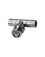 BNC Splitter T Connector Male-Female-Female t 1 input to 2 outputs