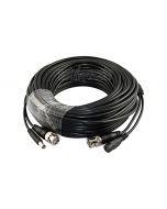 20m RG59 Ready Made Coax & Power Cable suitable for Hikvision Turbo HD Cameras