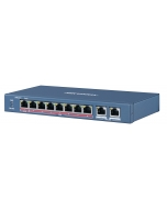 DS-3E0310HP-E 8-Port 100Mbps Long Range Unmanaged L2 PoE Switch
