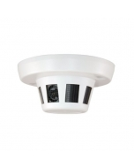 5MP NV-2CD6SMK5WD-S Covert Smoke Detector Syle IP Camera with PoE, Mic & Audio Out