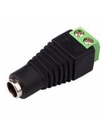 Female 2.1mm Power Connectors Jacks for CCTV Cameras Balun 12v & 24v Professional