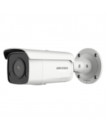8MP DS-2CD2T86G2-ISU/SL Hikvision 4K AcuSense 4mm 87° IP Bullet Camera with Strobe & 2-Way Audio