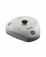 12MP DS-2CD63C5G0-IVS DeepinView 360° 1.29mm Fisheye IP Camera with Mic & Speaker