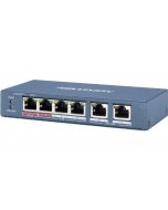 DS-3E0106HP-E 4-Port 100Mbps Long Range Unmanaged PoE Switch