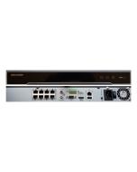 8 Channel DS-7608NI-I2/8P Hikvision 12MP PoE NVR Front & back