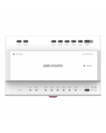 2-Wire Hikvision DS-KAD706 6-port IP Video/Audio Distributor with-power-out