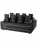 Hikvision DS-MH4172I/2T 8 Ports Docking Station for DS-MH2211/DS-MH2311 Body Cameras