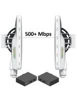Pre-Configured Wireless PTP Bridge Kit 500+Mbps