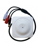 Pro CCTV Internal Acoustic Mic Microphone, High Fidelity low noise, 100m2 coverage, 12v back