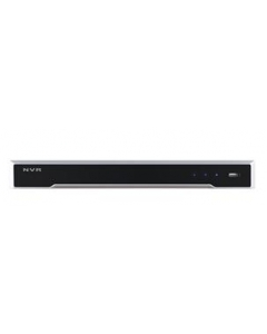 Hikvision, DS-7616NI -I2/16P, 16 Channel, NVR, 4K front & back view