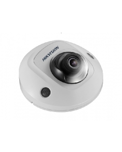 6MP Hikvision DS-2CD2563G0-IS-4MM 78° Mini Dome IP Camera with built-in Mic